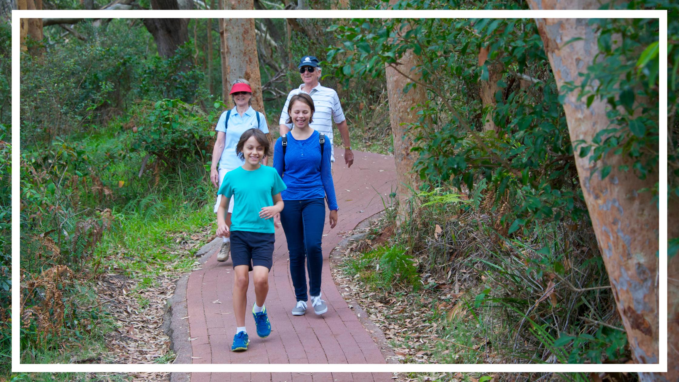 Bushwalking, Tomaree National Park, Port Stephens by Destination NSW