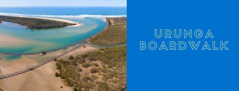 Urunga boardwalk and breakwall