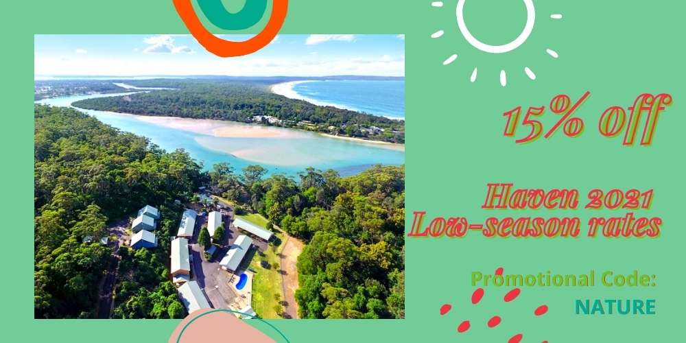 Haven Holiday Resort Sussex Inlet NSW Low-Season Sale 2021