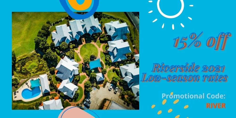Riverside Holiday Resort Urunga NSW Low-Season Sale 2021