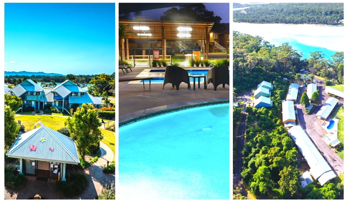 Riverside, Seaside and Haven Holiday Resorts in Urunga, Fingal Bay and Sussex Inlet NSW