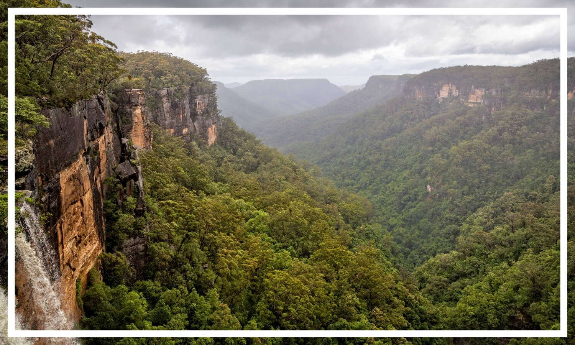 Fitzroy Waterfalls, Kangaroo Valley, NSW, Australia