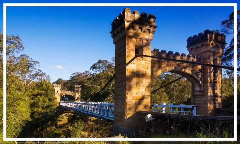 Hamden Bridge, Kangaroo Valley, NSW, Australia
