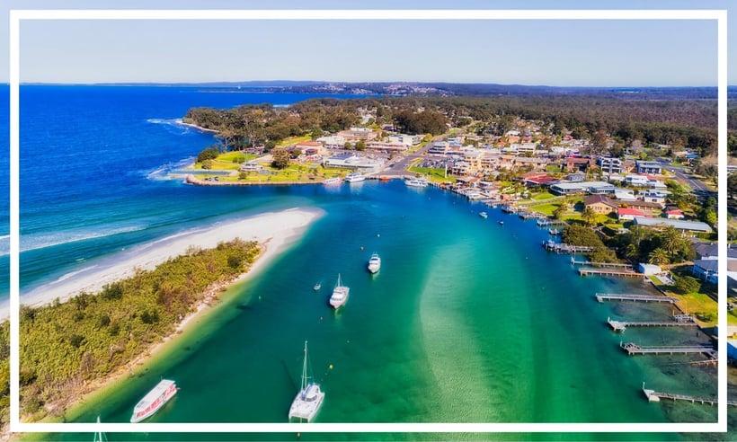 Huskisson on Jervis Bay, NSW, Australia -1