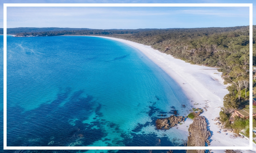 Hyams Beach, Jervis Bay by Destination NSW