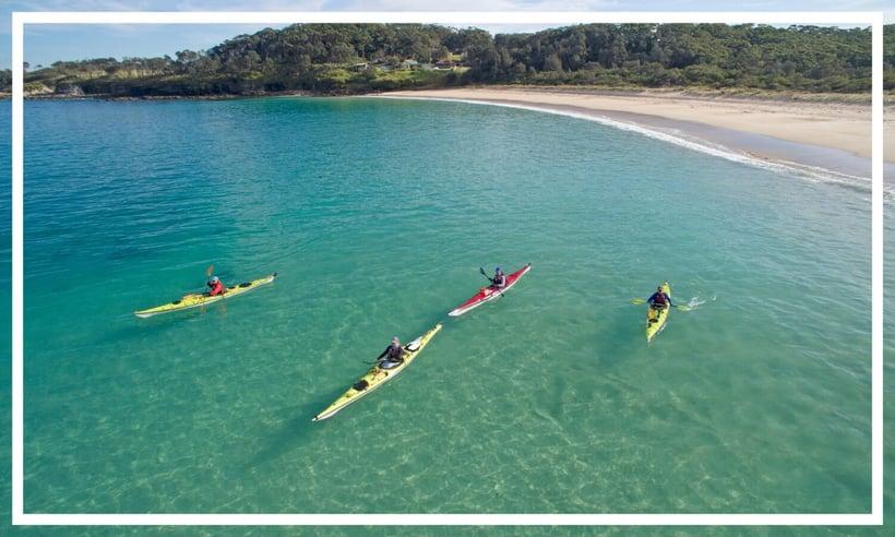 Kayaking, Jervis Bay by Dee Kramer Photography; Destination NSW