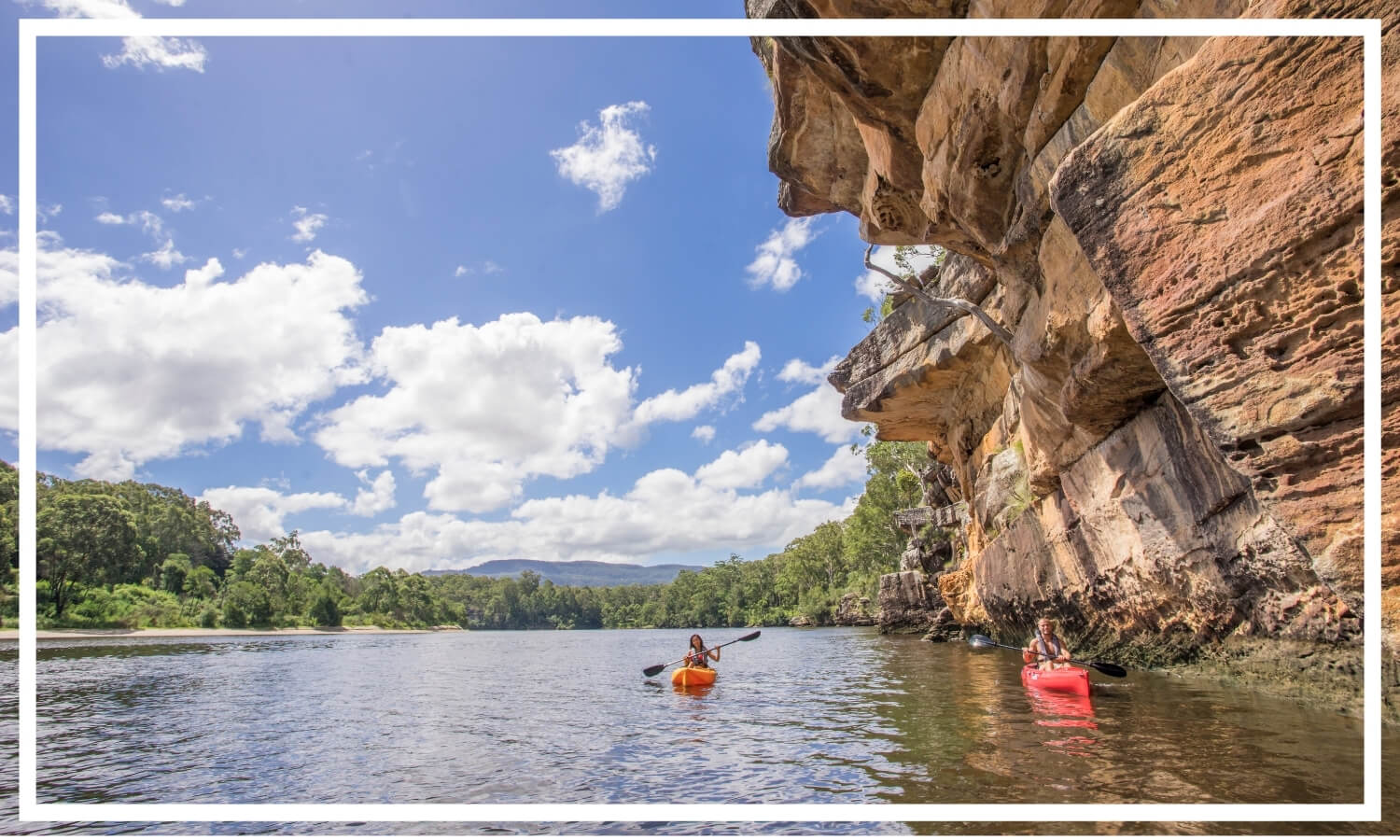 Kayaking, Shoalhaven River near Nowra by Destination NSW
