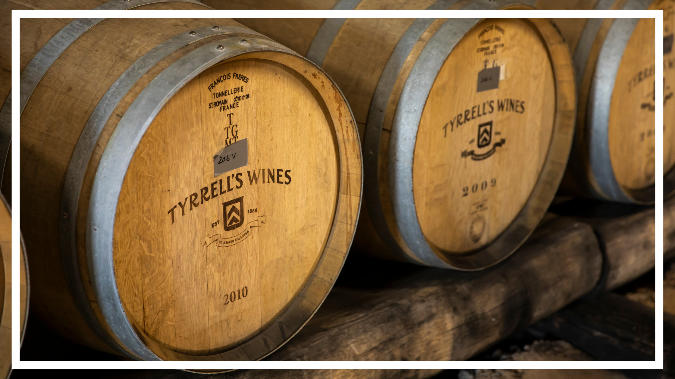 Onsite wine production at Tyrrells, Pokolbin by Destination NSW