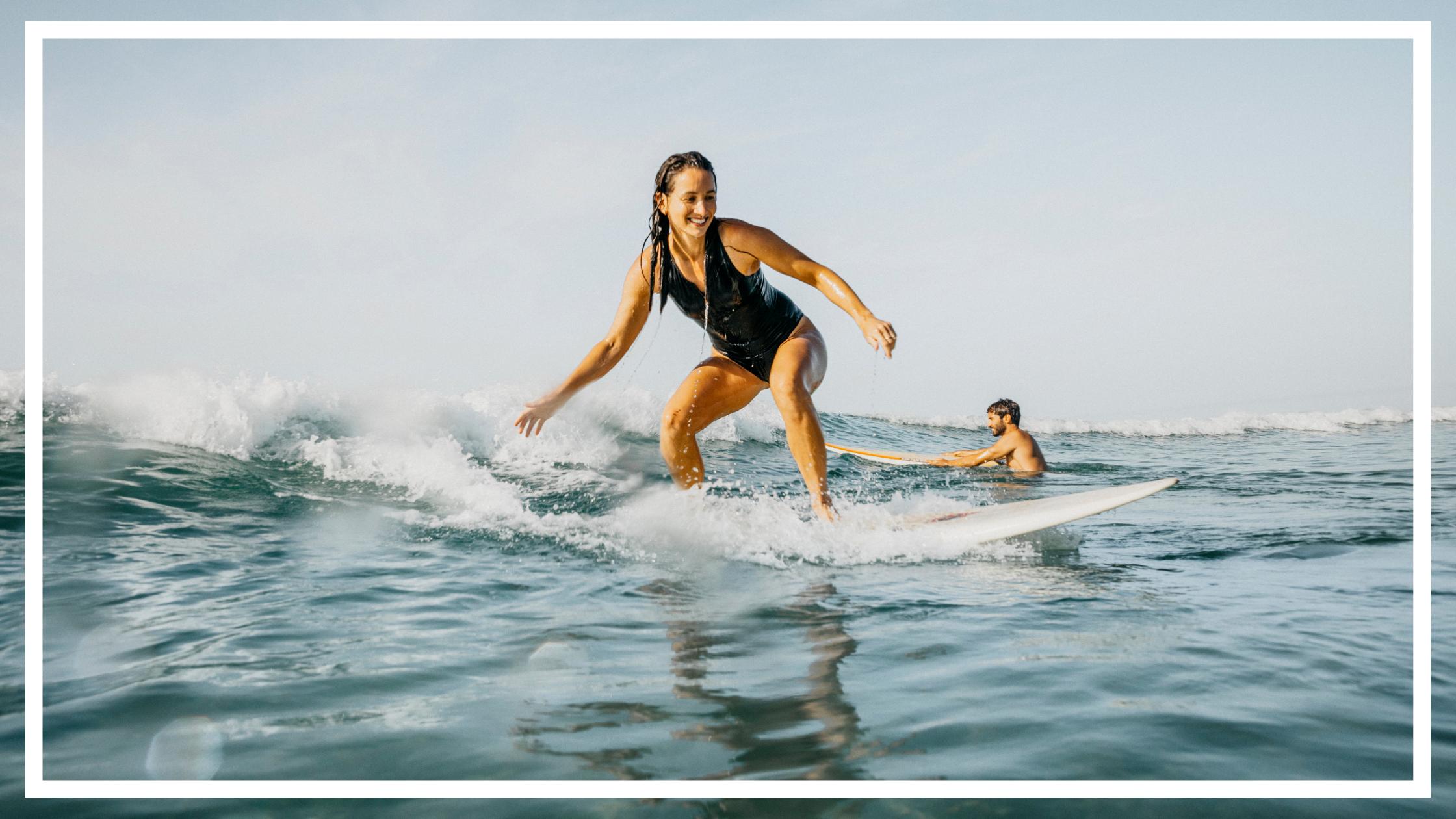Surfing Birubi Beach, Port Stephens by Destination NSW