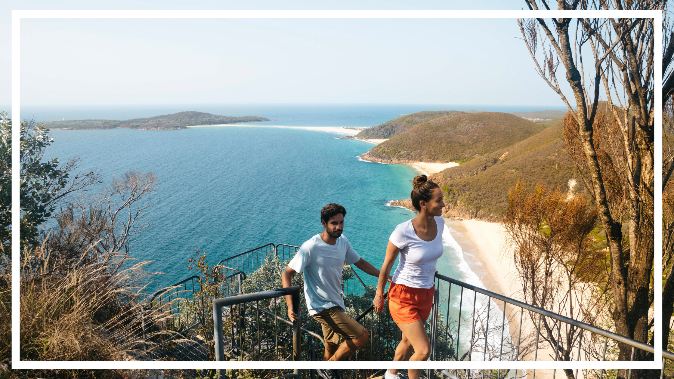 Tomaree Head Summit Walk, Port Stephens by Destination NSW