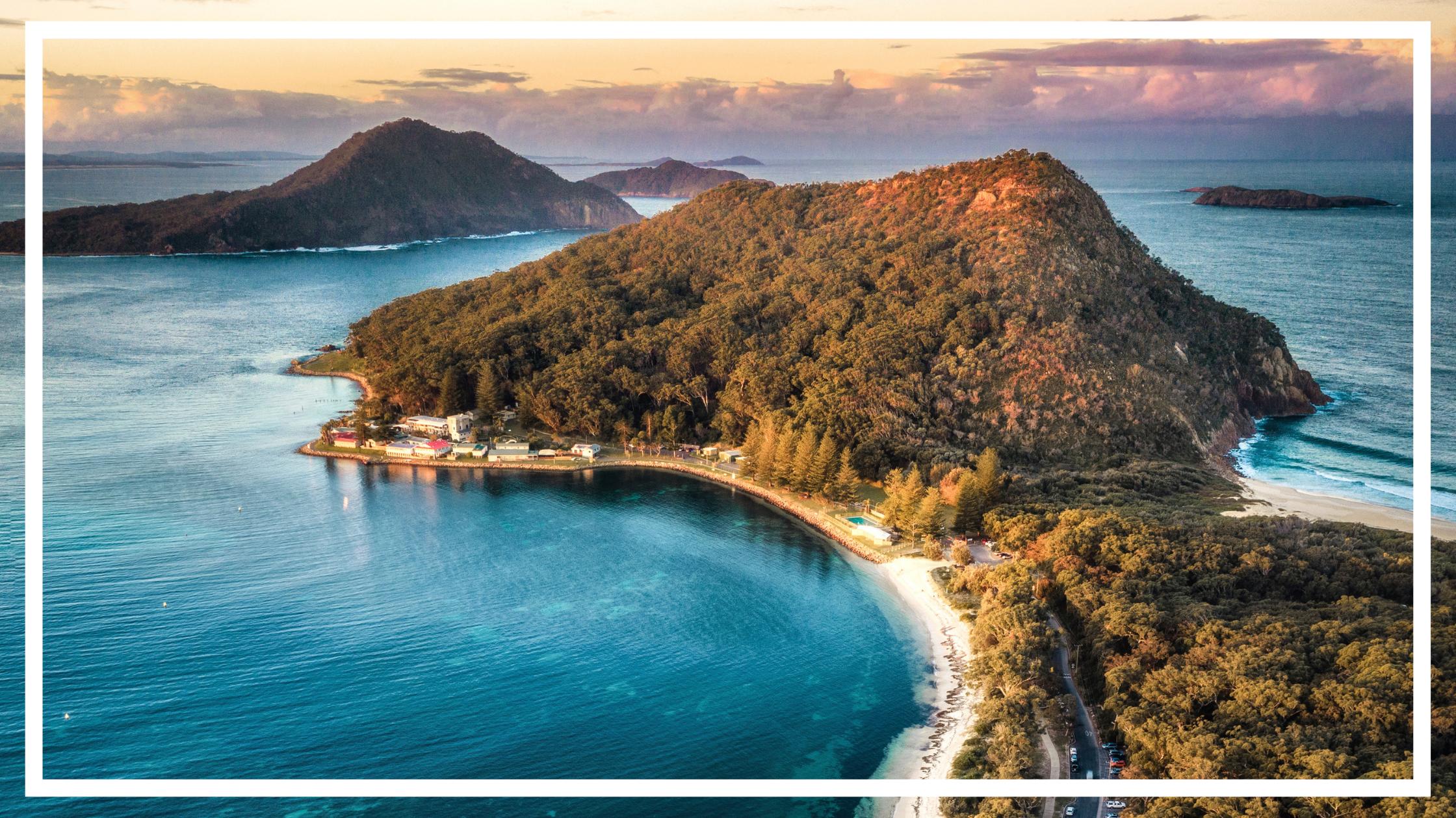 Tomaree Head, Port Stephens by Destination NSW